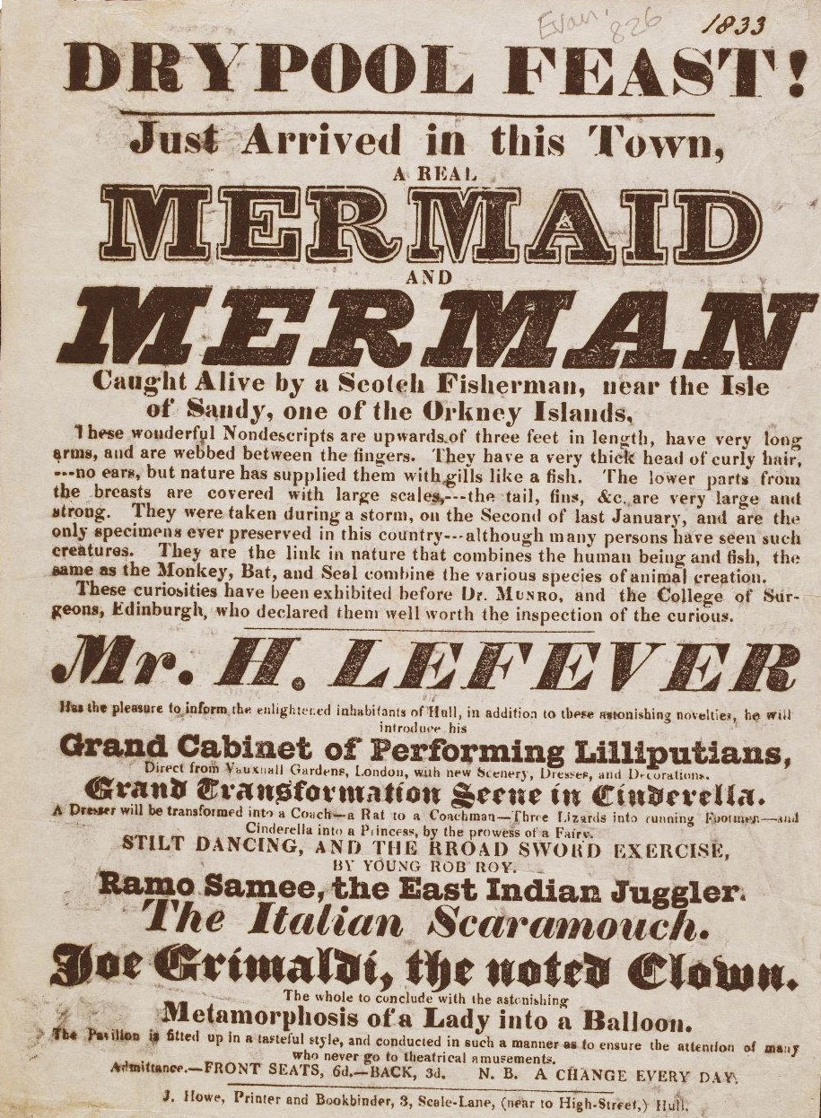 1800s Poster